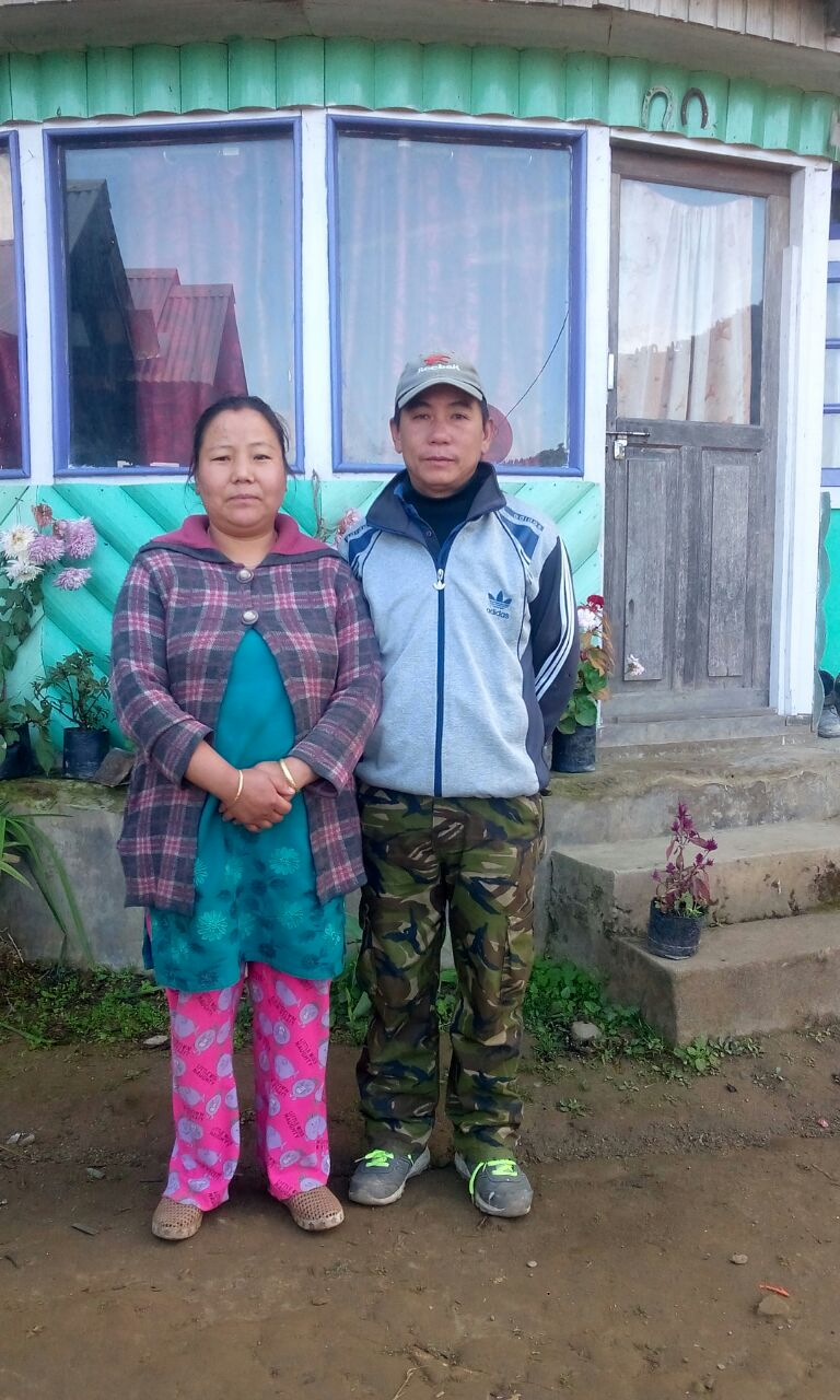 Sunder RAI and Sunita RAI